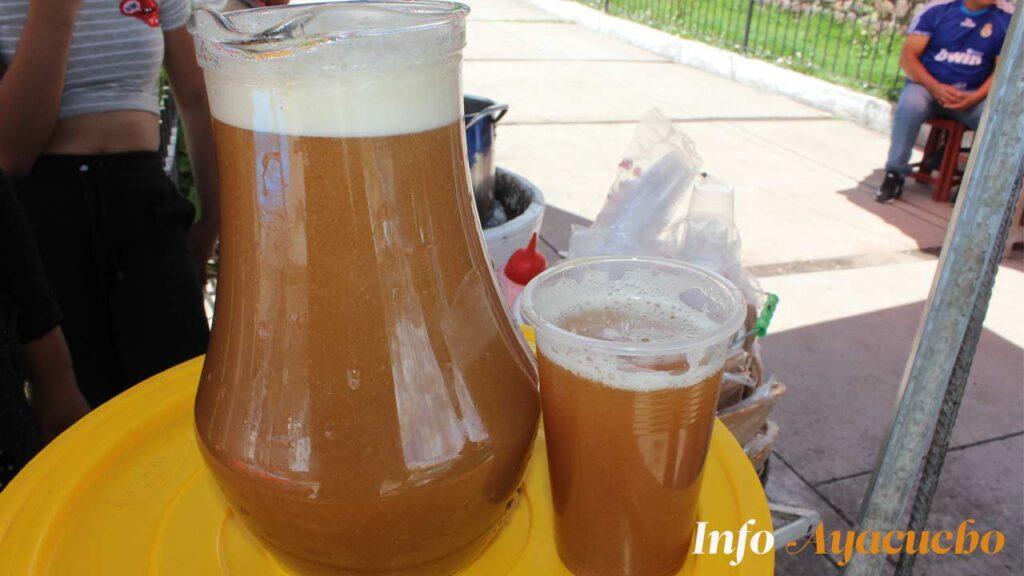 Chicha de jora - bebida típica de Ayacucho