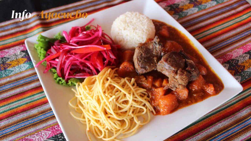 Puca picante - Plato típico de Ayacucho